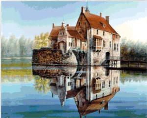 Вышивка: Замок (2)