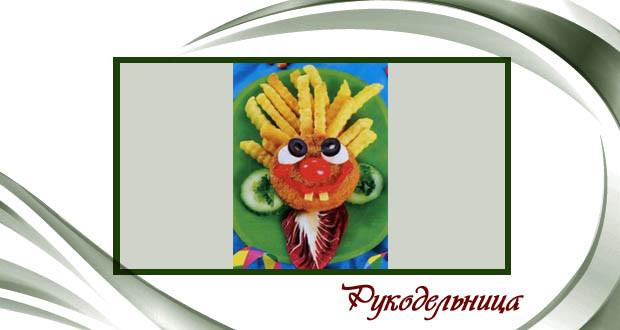 Рыбные котлеты «Клоун»