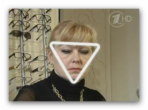 6 треугольное лицо